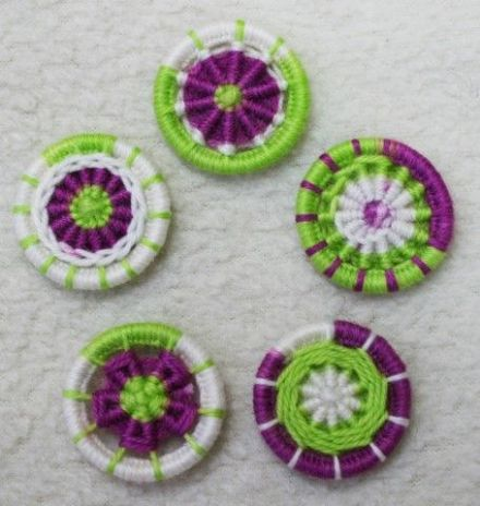 Dorset Button Kit - Multiple Style Dorset Button pack, Suffragette